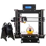3D DRUCKER, CTC i3Hohe Präzision unmontiert Desktop 3D Drucker Basteln Kit mit LCD-Display (Größe der Bau 200mm * 200mm * 180mm)