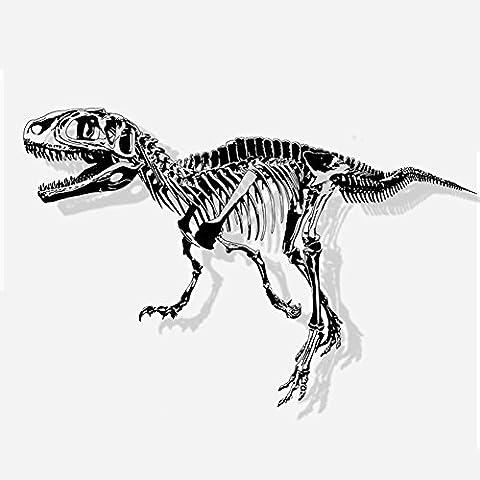 Dinosaures Fossiles - Jspoir Melodiz Créative Sticker Mural Primitive Squelettes