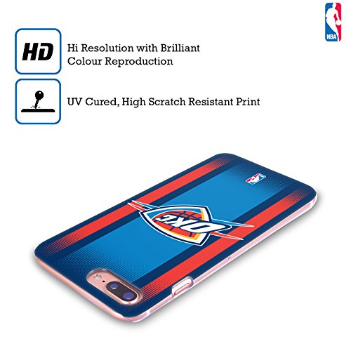 Ufficiale NBA Rovinato Oklahoma City Thunder Cover Retro Rigida per Apple iPhone 7 / iPhone 8 Gradiente Mezzotono