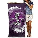 Beach Towel, Quick Dry Shelby Viper Gt 500 Beach Blanket -Multifunctional Blanket:Suit