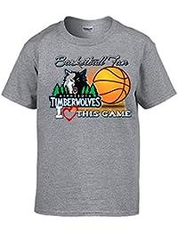 Camiseta NBA Minnesota Timberwolves Baloncesto Basketball fan I Love This Game