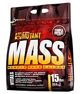 PVL Mutant Mass 6800 g Chocolate Hazelnut Weight Gain Shake Powder