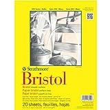 Strathmore Artist Papers 300Series Bristol Board Papier Pad Pergamentpapier Oberfläche (22,9x 30,5cm)