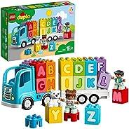 LEGO DUPLO Camiondell'Alfabeto, Giochi Bimbi 1,5 Anni,Mattoncini per l'Apprendimento delle Lettere, 1