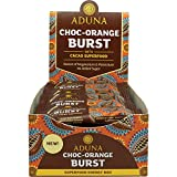 Aduna Choc-Orange Energieriegel mit Kakao und Orange, 40g - (Packung mit 16 Riegeln)