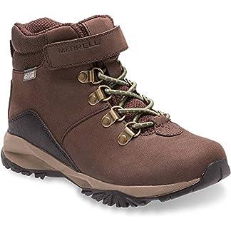 Merrell Boy's Ml-Alpine Casual Boot WTRPF Chukka 4