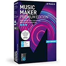 Magix Music Maker 2018 Premium Edition - Software De Producción De Música, PC, Italiano, Francais