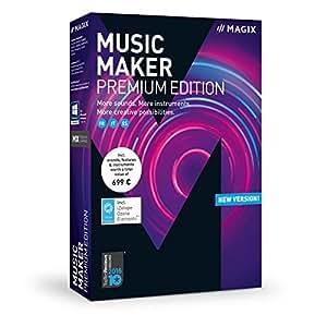 magix music maker 2018 premium edition logiciels. Black Bedroom Furniture Sets. Home Design Ideas