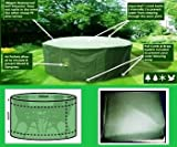 Pelicanshop - Copertura rotonda di protezione contro gli agenti atmosferici per tavoli e sedie all'aperto, qualità superiore, altezza 80 cm, profondità 163 cm, 30 cm, Small/Medium