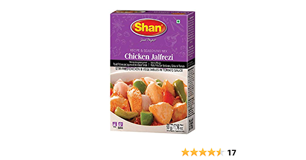 Shan Spice Mix For Chicken Jalfrezi 50g Amazon In Grocery Gourmet Foods