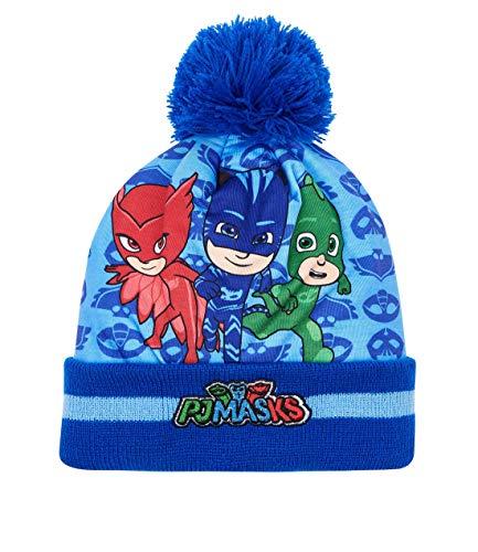 PJ Masks Gorro de Lana para Chicos Azul 52