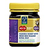 Manuka Honig MGO 100, Fresh New Zealand Royal Jelly (250 g)