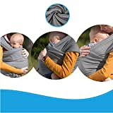 Babytragetuch ✮ elastisches Tragetuch Baby Carrier ✮ Tragetücher für Männer und Frauen ● Babytragen babytuch ● Halten Sie Ihr Baby am Herzen liegt - 3