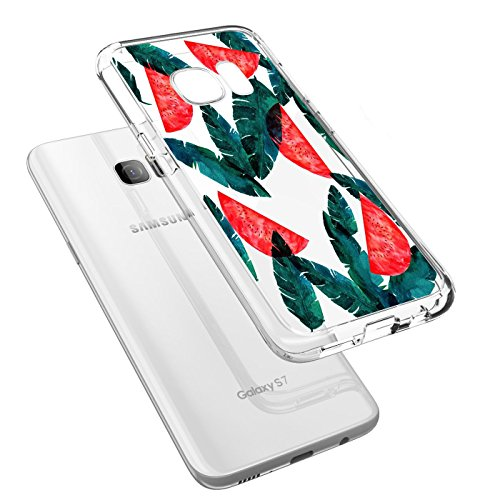 Coque Samsung Galaxy S7 Edge, Qissy® Ultra-Thin Coque Silicone Étui Housse Transparent Souple TPU Protecteur Exact Fit Soft Etui Coque Pour Samsung Galaxy S6 EDGE PLUS D