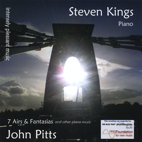 Intensely Pleasant Music: 7 Airs & Fantasias and Other Piano Music By John Pitts