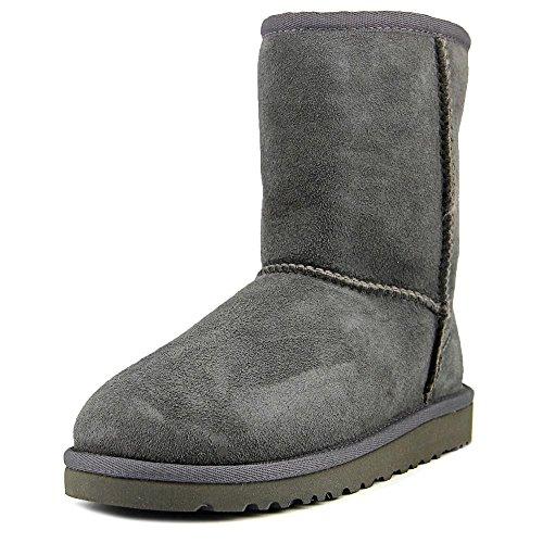 Ugg Australia Kurze Lammfell Stiefel Größe: 1 Farbe: grau (Uggs Mädchen Größe 1)