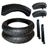 2 Stück Reifen + Schlauch 280 x 65 - 203 mit Montagehebel