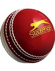 Slazenger de críquet deporte Match Play desarrollo de formación swing Spin bolos bola, rojo, Adulto