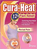 Cura Heat Period Pain - 3-Pack