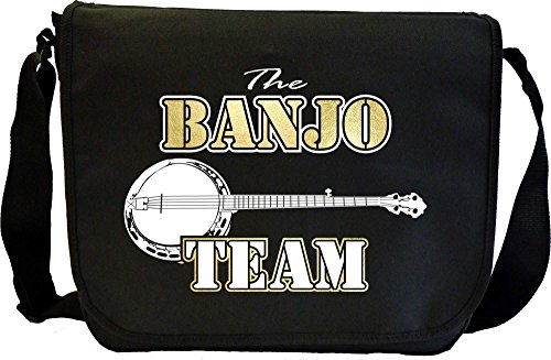 Banjo Team - Musik Noten Tasche Sheet Music Document Bag MusicaliTee