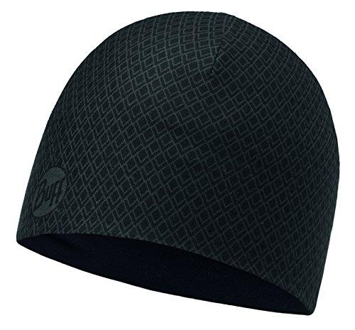 Buff Microfiber Reversible Hat Mütze, Drake Black-Graphite, One Size