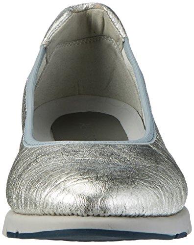 Aerosoles Damen Fast Track Geschlossene Ballerinas Silber (Silver)