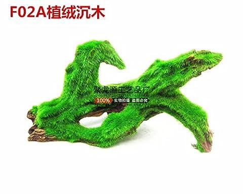 Suunhh Reptile Live terrasse de tortues d'eau Tortue Animal Tortue d'escalade escalade Taïwan/Savourez la sortant de simulation en bois flotté, F02d Flocage en bois