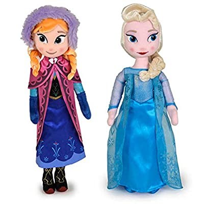 Peluche Elsa Anna Frozen Disney 40cm surtido de FAMOSA