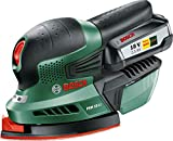 Bosch PSM 18 LI Cordless 18 Volt Li-Ion Multisander (baretool: supplied without battery/without charger)