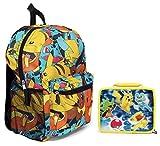 Pokémon Grand sac à dos et isolé carré Boîte à lunch Sac à déjeuner–Enfants