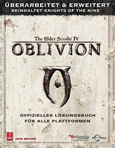 Elder Scrolls 4: Oblivion Lösungsbuch (Scrolls Elder Pc Iv)