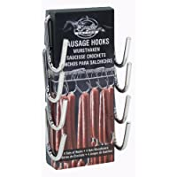 Bradley Smoker BTHOOK Sausage Hooks, Silver