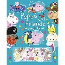 Peppa Pig. Peppa And Friends Magnet Book [Idioma Inglés]