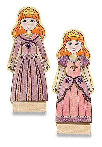 Melissa & Doug Melissa & Doug DYO Wooden Magnetic Princess Fashions