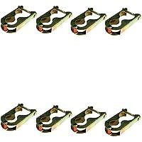 Comparador de precios Trampolín 8x Pinzas Pinzas de sujeción Fijación para red 4barras - precios baratos