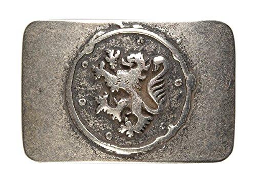 Trachten Gürtel-Schnalle Landes-Wappen Gürtelschließe Wechsel-Schliesse Geburtstag-Geschenk Accessoire 8 x 5,5 cm 40 ()