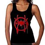 Distorted Spider Man into The Spiderverse Spray Paint Women's Vest