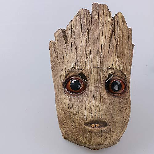 Charaktere Wächter Kostüm - VAWAA Film Wächter Der Galaxy 2 Cos Masken Cosplay Groot Maske Latex Helm Halloween Party Prop