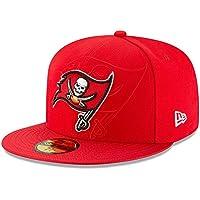 New Era Nfl Sideline 59Fifty Tambuc Otc - Cappello Linea Tampa Bay Buccaneers da Uomo, colore Rosso, taglia 7