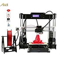 ANET A8 3D Printer DIY KIT support Multi Filament 8GSD Large Print Size 220 * 220 * 240mm …