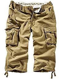 Surplus Trooper Legend 3/4 Mens Cargo Shorts