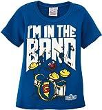 Logoshirt Jungen T-Shirt, Blau (Azure Blue), 92/98