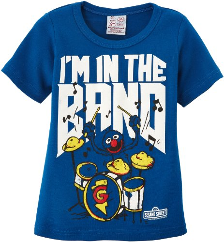 Logoshirt Jungen T-Shirt, Blau (Azure Blue), 122/134