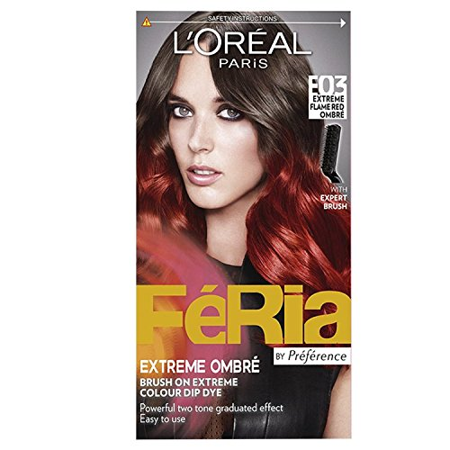 loreal-feria-e03-extreme-flame-red-ombre