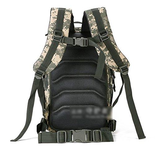 YAAGLE 25 Liter militärisch Quadra Rucksack outdoor Reisetasche Gepäck Fahrrad Laptoptasche Schultertasche Sporttasche Tarnung 2