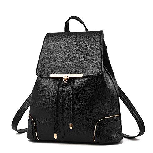Sac à Dos Mode Simple Loisir style sac de voyage Femmes/Filles en PU Cuir Sac à dos scolaire