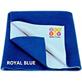 Bey Bee Just Dry Baby Care Waterproof Bed Protector Sheet - X-Large (Royal Blue)