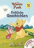 Disney Winnie Puuh: Fröhliche Geschichten mit CD: Zum Vorlesen und Anhören!