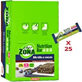 enerZONA bar Nutrition mirtillo e cacao box da 25 - 51iUD  C8iL. SS166
