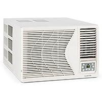 Klarstein Frostik Climatiseur fenêtre  Fonction de refroidissementt 2,7 Kw  Air conditionné  Classe énergétique A  Ventilateur 4 niveaux  Températures réglables au choix par paliers de 1 ° C entre 16 et 30 °C  Réfrigérant R32